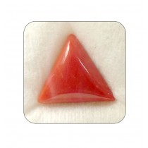 Natural Red Coral Triangular 10+ 6.3ct