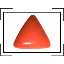 Astrological Coral Triangular 5+ 3.05ct