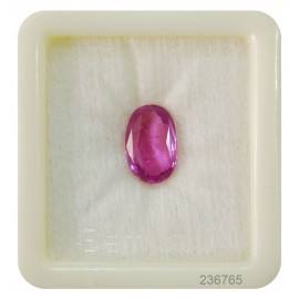 Burmese Ruby Gemstone SP 5+ 3.4ct