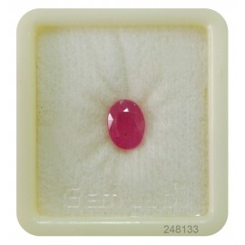 African Ruby Gemstone Fine 3+ 2.15ct