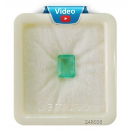Natural  Emerald Panna Stone Sup-Pre 3+ 1.95ct