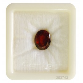Hessonite Garnet Gemstone Fine 8+ 4.9ct