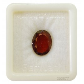 Hessonite Garnet Gemstone Fine 9+ 5.8ct