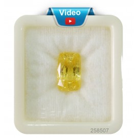 Yellow Sapphire Sup-Pre 14+ 8.5ct