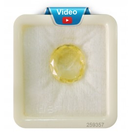Yellow Sapphire Sup-Pre 14+ 8.6ct