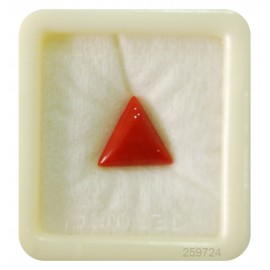 Natural Coral Triangular 6+ 3.6ct