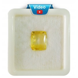 Yellow Sapphire Sup-Pre 6+ 4ct