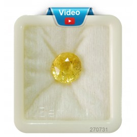 Yellow Sapphire Sup-Pre 10+ 6.4ct