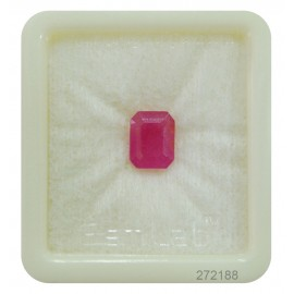 Lab Certified Ruby StoneFine 4+ 2.6ct