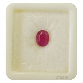 African Ruby Gemstone Fine 3+ 2.2ct