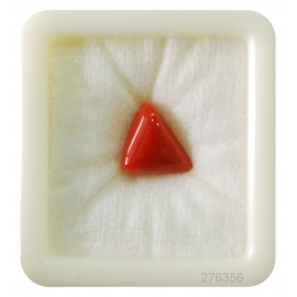 Natural Coral Triangular 6+ 3.95ct