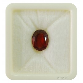 Hessonite Gemstone Fine 6+ 3.7ct