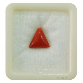 Astrological Coral Triangular 5+ 3.2ct