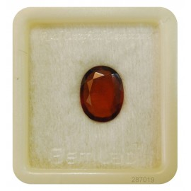 Hessonite Gemstone Fine 6+ 3.75ct