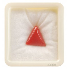 Astrological Coral Triangular 9+ 5.6ct