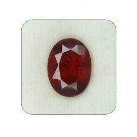Hessonite Gomed Gemstone Fine 7+ 4.3ct