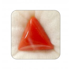 Natural Red Coral Triangular 15+ 9.4ct