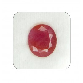 Ruby Manik Gemstone Fine 7+ 4.4ct