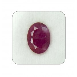 Ruby Manik Gemstone Fine 7+ 4.45ct