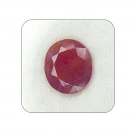 Ruby Manik Gemstone Fine 9+ 5.4ct