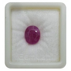 Natural Ruby Gemstone Premium 9+ 5.8ct